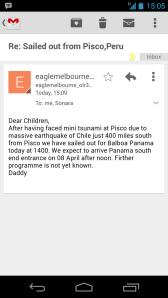 tsunami email